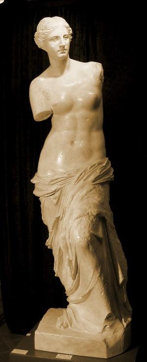 Aphrodite of Melos (Venus de Milo) - Museum of Antiquities - Arts ... fcc81429c33