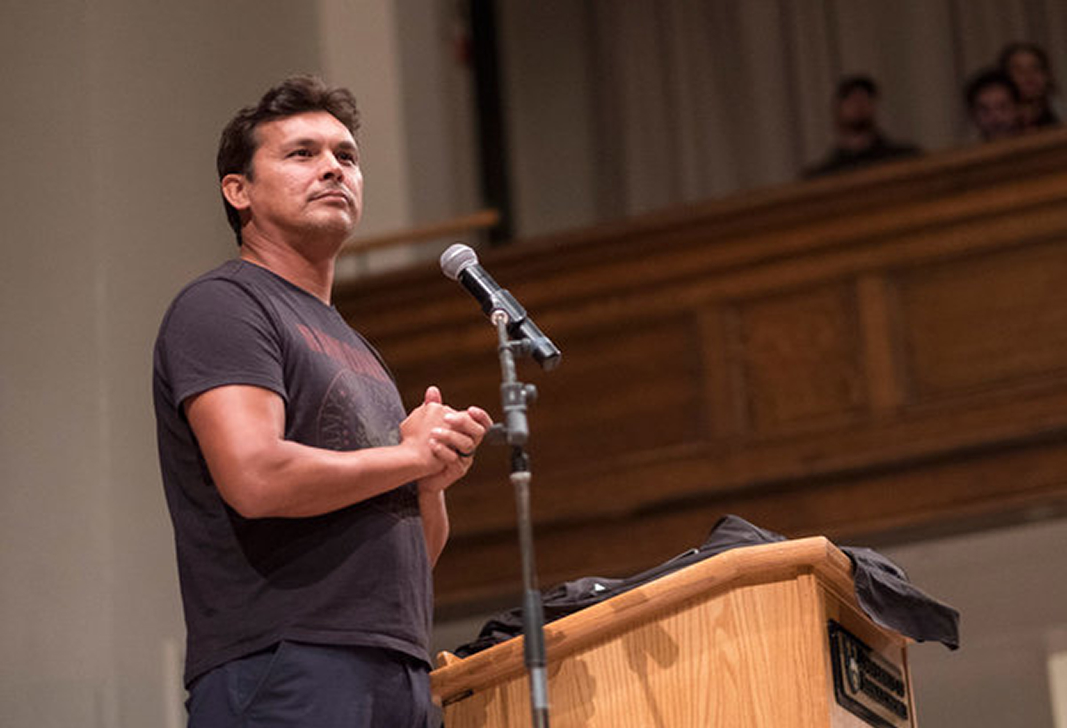 Adam Beach delivers