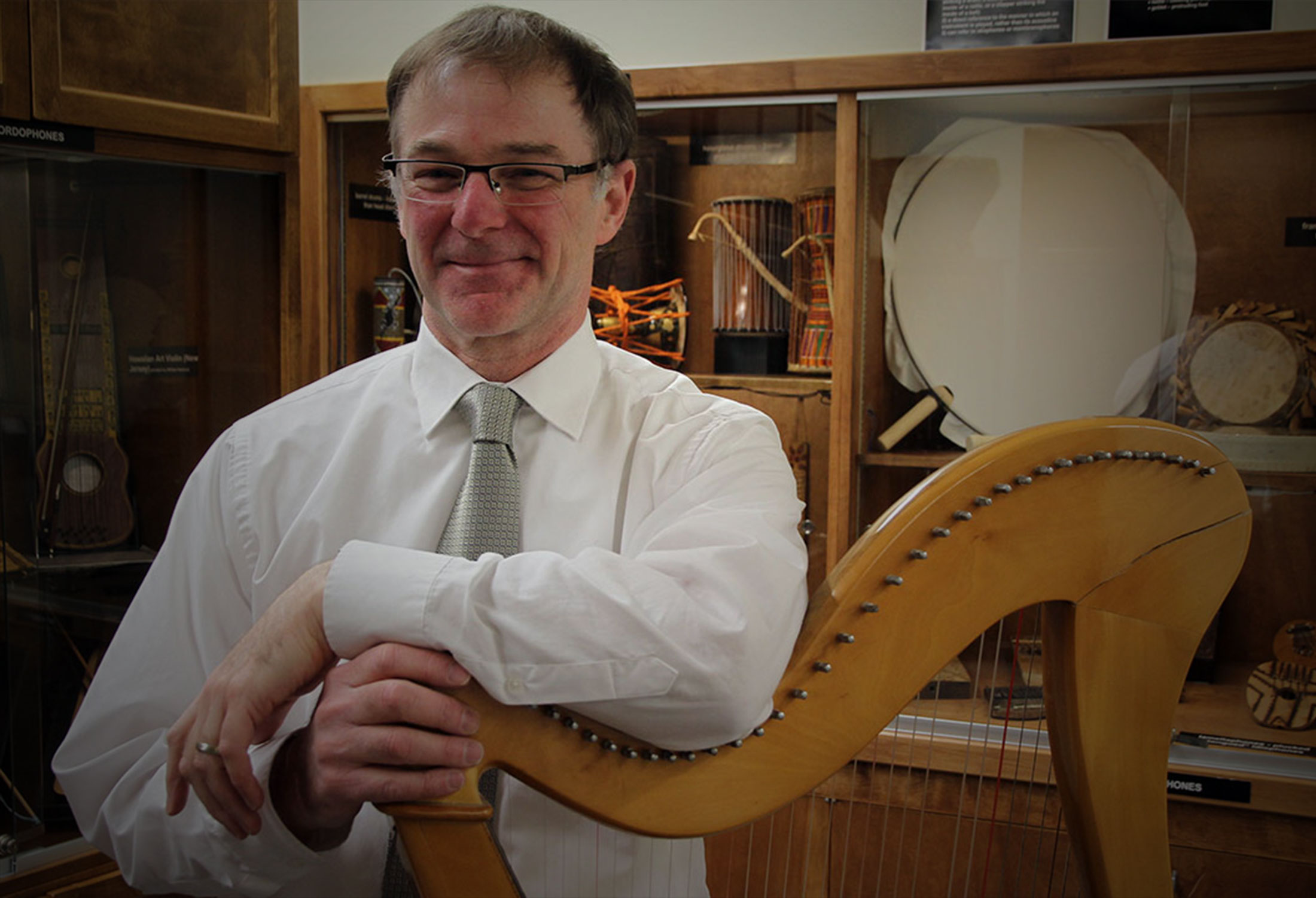 Kaplan Chair to enhance Music Department