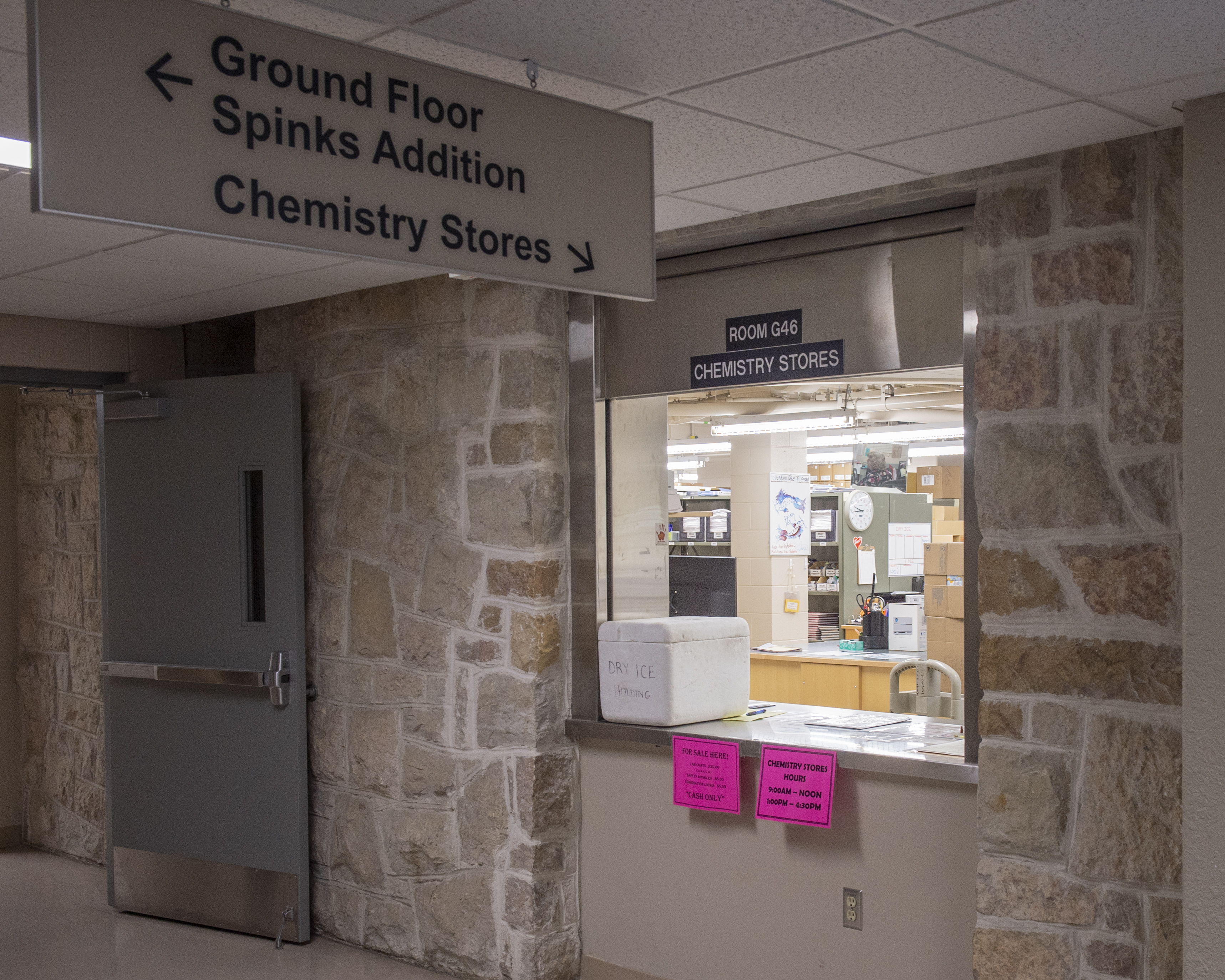 Chemistry Stores - Department of Chemistry - Arts and