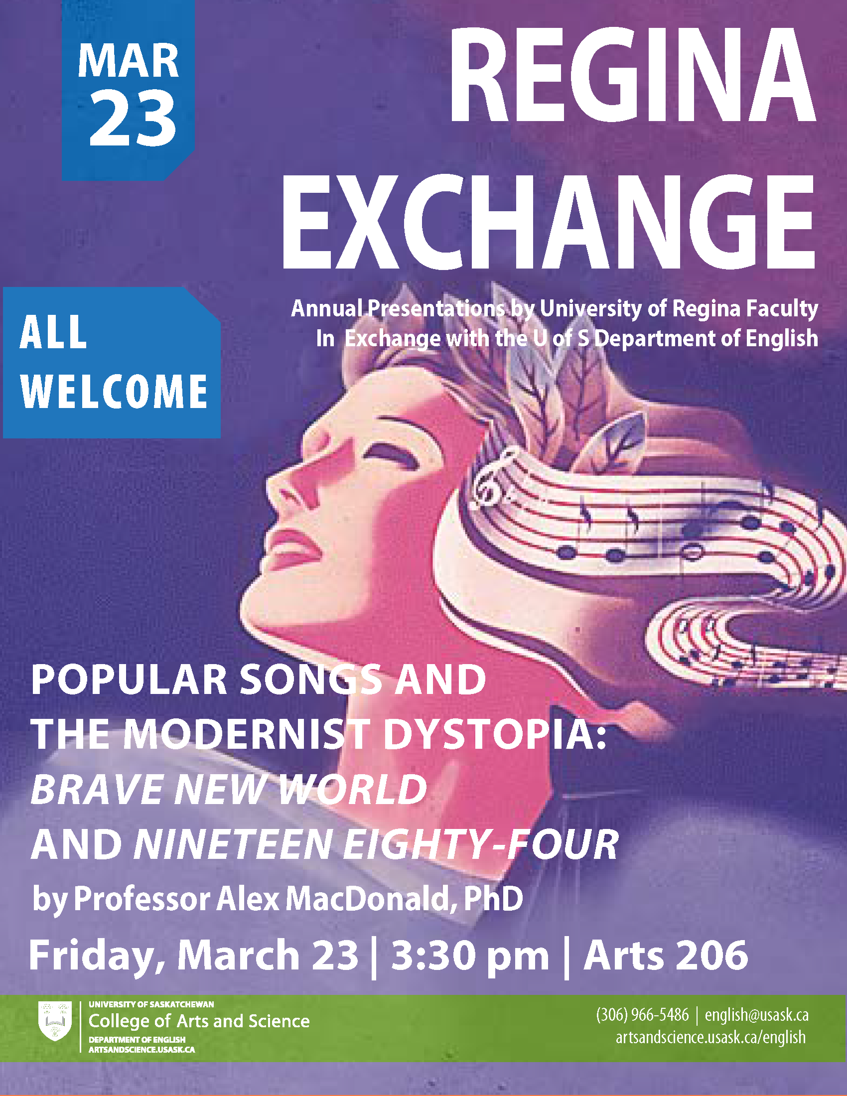 REGINA EXCHANGE: Popular Songs and the Modernist Dystopia